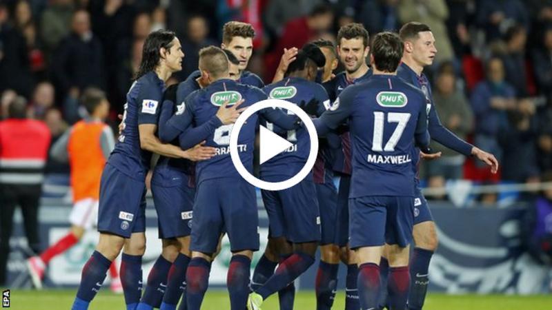 Highlight: PSG 5 Monaco 0, PSG Bertemu Angers Di Final Coupe De France