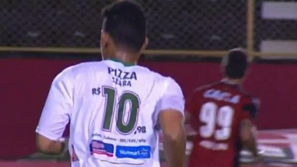 Jersi Kelab Divisyen 4 Brazil Ini Tukar Nombor Pemain Kepada Tanda Harga!