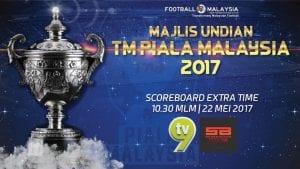 Keputusan Undian TM Piala Malaysia 2017