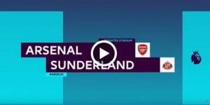 Highlight: Arsenal 2 Sunderland 0, Sanchez Cetak 2 Gol