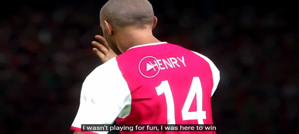 VIDEO: 'Tribute' Karier Theirry Henry Dalam Versi PES2017 Yang Cukup Hebat!