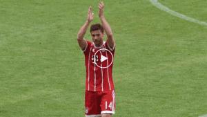 VIDEO: Detik-Detik Berakhirnya Karier Xabi Alonso Sebagai Pemain Profesional