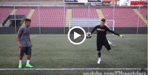 Video: Aksi Neymar Dalam Crossbar Challenge