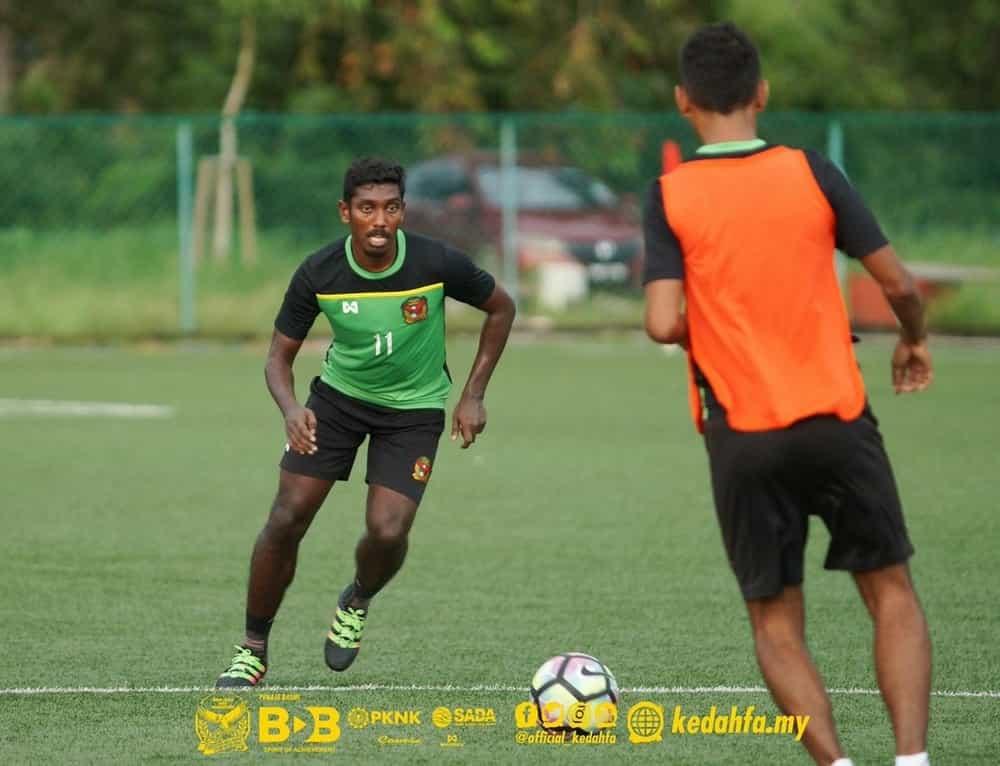 Bekas Pemain Kedah Raphi Azizan Kini Bergelar Pemain Petaling Jaya Rangers