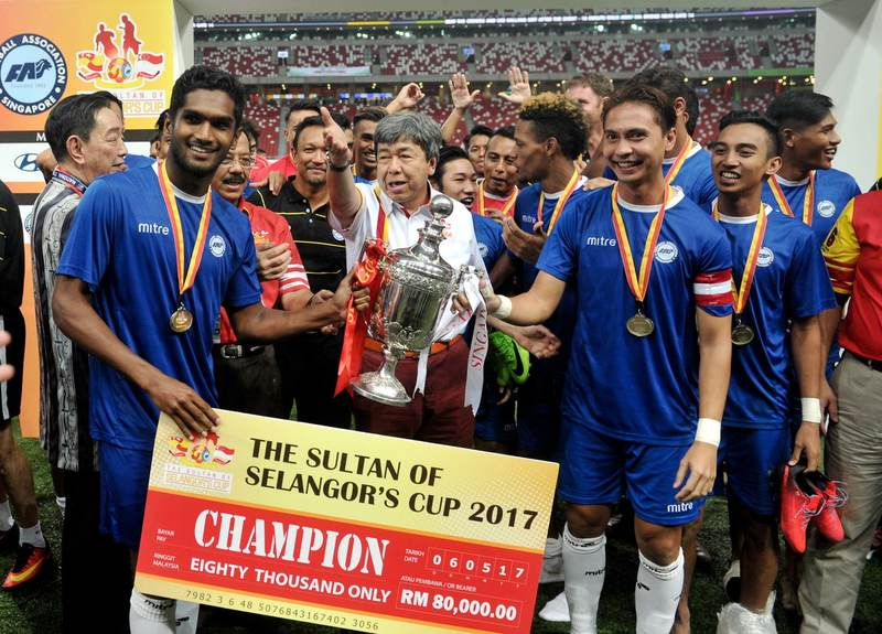 Singapura Pertahankan Piala Sultan Selangor, Menang 3-2 Ke Atas PKNS FC