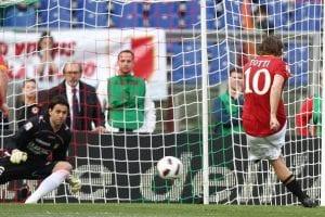 Kerana Sayangkan AS Roma, Totti Sanggup Sengaja Sasarkan Keluar Sepakan Penalti