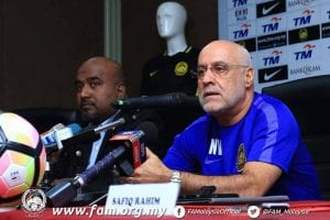 Nelo Vingada Tekankan Kepada Pemain Malaysia, Kepentingan 'Compactness' Ketika  ...