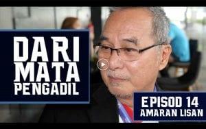 VIDEO: Dari Mata Pengadil (Episod 14) - Amaran Lisan