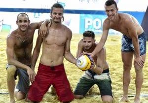 Pemain Inter Milan Ivan Perisic Kini Bergelar Pemain Bola Tampar Pantai  ...