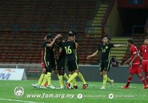 Semangat Harimau Muda! Malaysia B-22 Menang 2-0 Ke Atas Myanmar B-22