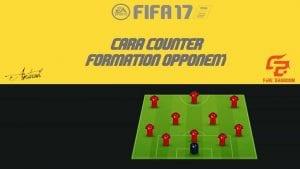Tips Untuk Atasi Pihak Lawan Yang Gunakan 3 Formasi Lazim Dalam FIFA 17