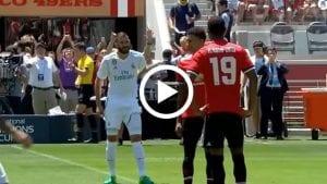 Highlight Pra Musim: Man United 1 Real Madrid 1 (Pen. 2-1)