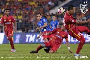 VIDEO: Highlight Piala Malaysia 2017 (Selangor 3-2 JDT)