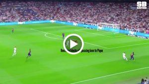 VIDEO: Gerak Kerja Bertahan Karim Benzema Ketika Perlawanan El Clasico