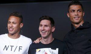 Ronaldo, Messi, Neymar Finalis Anugerah Terbaik FIFA 2017
