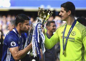 Thibaut Courtois Sahkan Diego Costa Kekal Di Chelsea, Bergurau Di Instagramnya