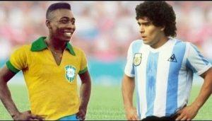 Pele vs Maradona: Legenda Manakah Yang Terhebat Di Antara Keduanya?