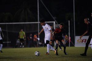 Pertahanan Level Up FC Sekat Penyerang Ingress Tigers FC Untuk Menang 2-1