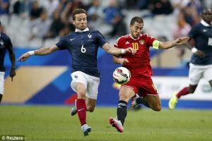 Eden Hazard Bersama Yohan Cabaye Buka Kelab Bola Sepak