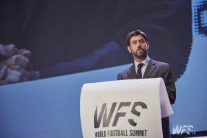 Andrea Agnelli World Football Summit 2018