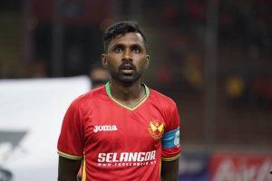 Kapten Selangor, K. Sarkunan memakai jersi home Selangor musim 2019