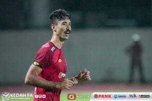 1 David Rowley PKNP FC Kedah Piala Malaysia