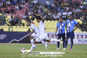 Safiq Rahim Melaka PDRM Piala Malaysia