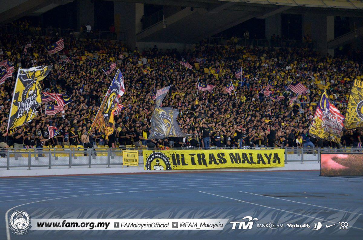 Ultras Malaya Malaysia Jordan