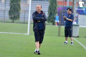 Park Hang-seo Vietnam Malaysia Latihan