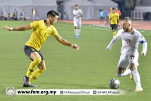 Dominic Tan Stephan Schrock Sukan SEA 2019 Malaysia FIlipina