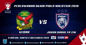 JDT Kedah Piala Malaysia