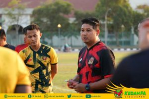 Aidil Sharin Kedah 2020 Latihan