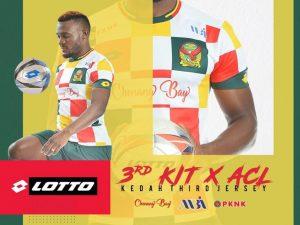 Kedah Jersi ketiga ACL 2020