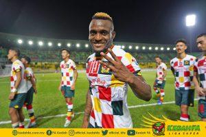 Kipre Tchetche Kedah Tai Po FC Kelayakan ACL 2020