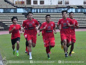 Sabah Liga Super 2020 Latihan